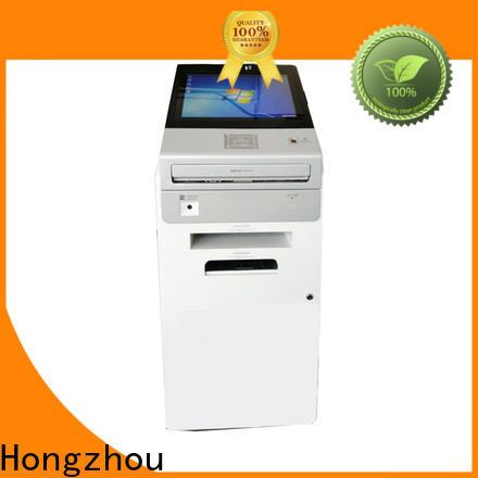 Hongzhou touch screen information kiosk machine for busniess for sale