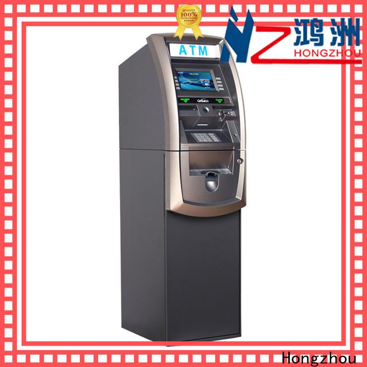 Hongzhou custom atm kiosk manufacturers company for cash dispenser