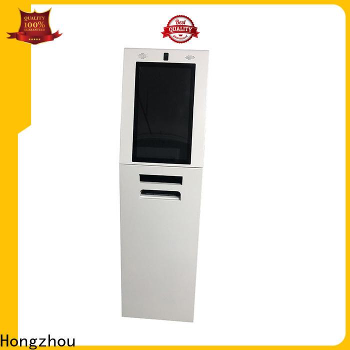 Hongzhou best interactive information kiosk supplier in bar