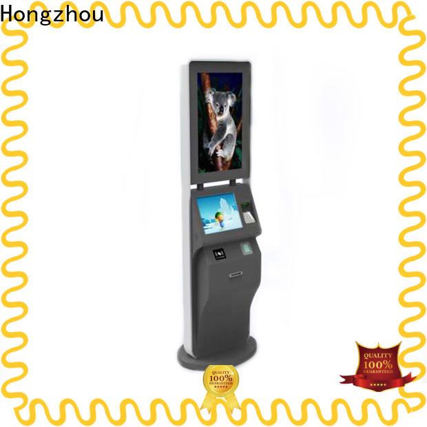 Hongzhou self service ticketing kiosk supplier on bus station