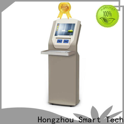 Hongzhou latest library information kiosk supplier in book store