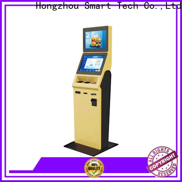 Hongzhou hotel check in kiosk manufacturer for sale