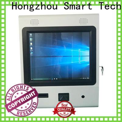 Hongzhou information kiosk machine supplier in airport