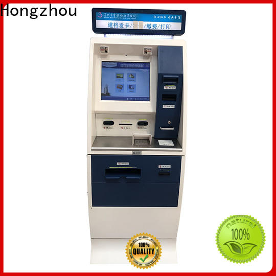 Hongzhou hospital check in kiosk with coin for patient