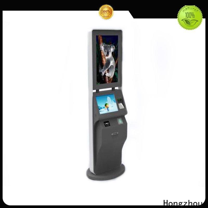 Hongzhou self service ticketing kiosk with camera in cinema
