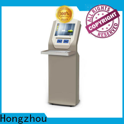 Hongzhou interactive library kiosk system factory for books