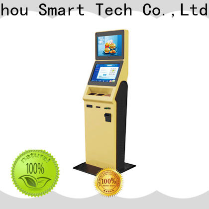 high quality hotel self check in kiosk factory in hotel