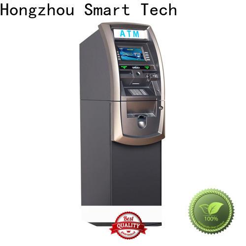 hot sale atm kiosk with logo for cash dispenser