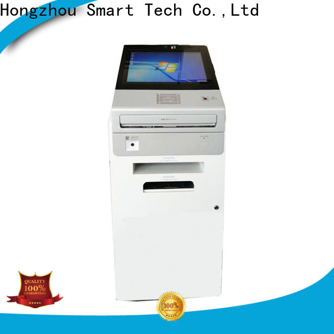 Hongzhou interactive information kiosk with qr code scanning for sale