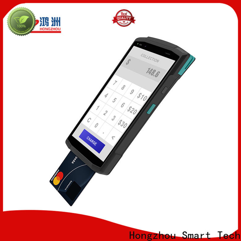 Hongzhou android pos with barcode scanner in hotel