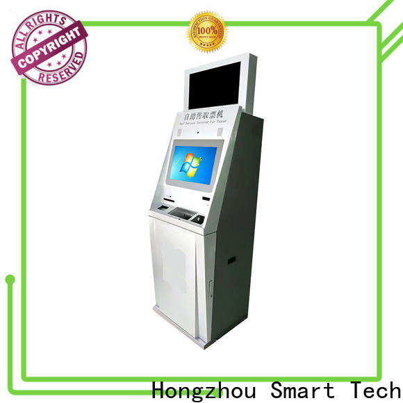 latest ticket kiosk machine factory for sale