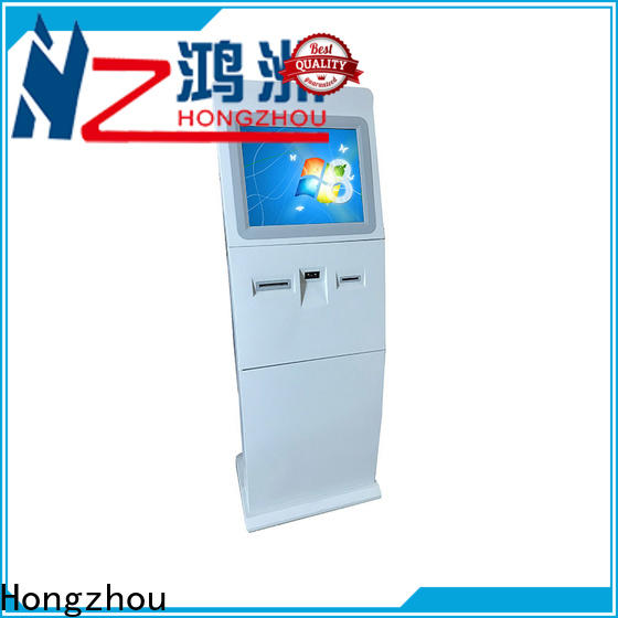 Hongzhou wireless interactive information kiosk with camera in airport