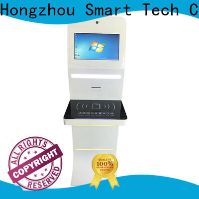 Hongzhou library self service kiosk for busniess in book store