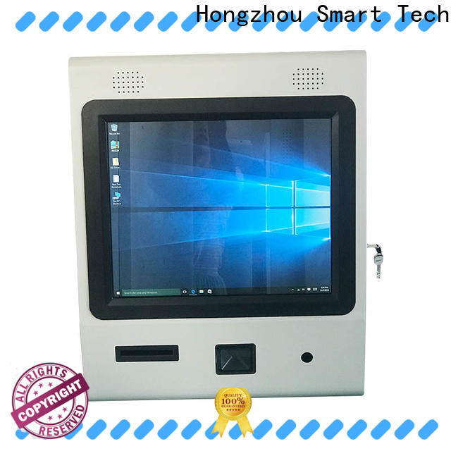 Hongzhou new touch screen information kiosk for busniess in airport