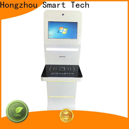 top library information kiosk company in library