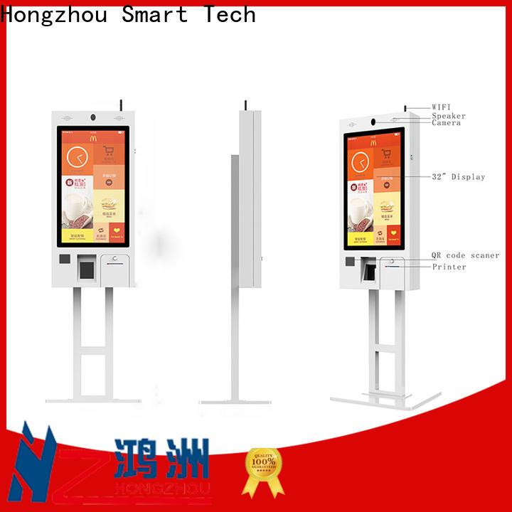 Hongzhou superior quality ordering kiosk with speaker for restaurant