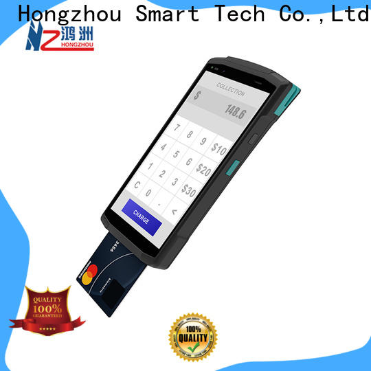Hongzhou top mobile pos for busniess in library