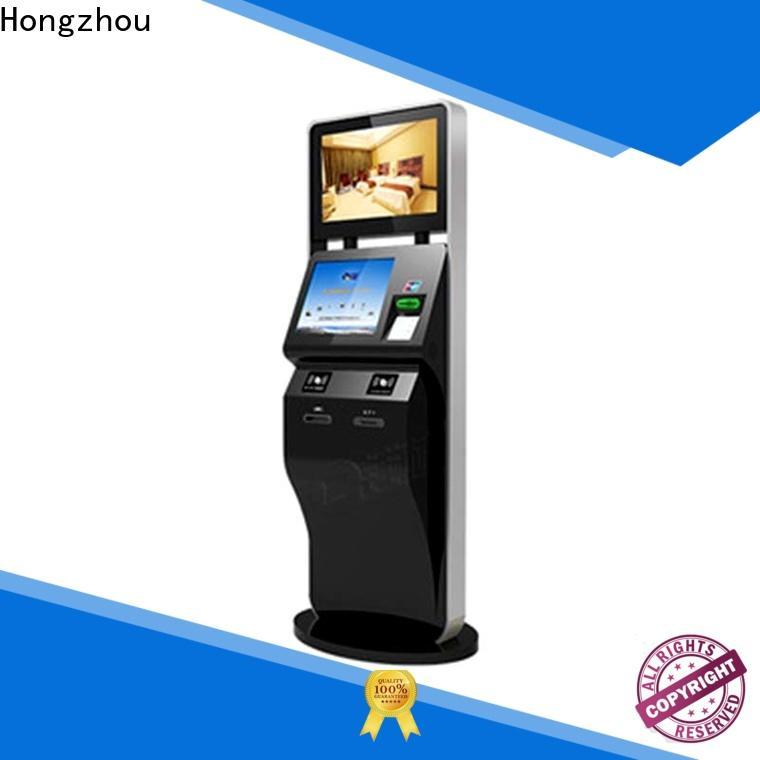 Hongzhou custom ticket kiosk machine factory for sale