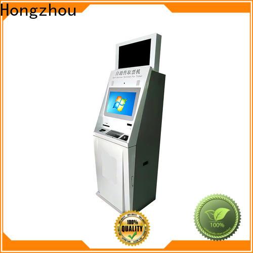 Hongzhou ticketing kiosk supplier for sale