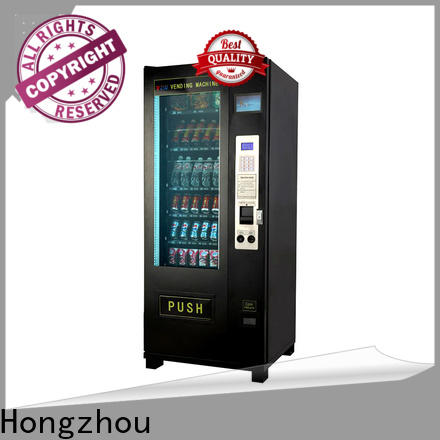 Hongzhou high quality automatic vending machine free standing for sale