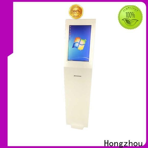 Hongzhou information kiosk machine with printer in airport