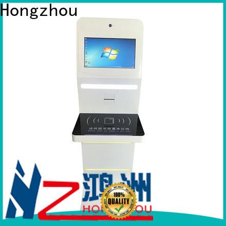 Hongzhou library self service kiosk factory for sale