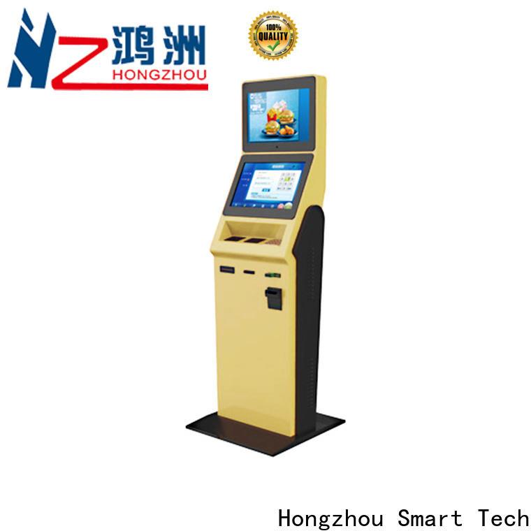 multi function hotel check in kiosk supplier for sale