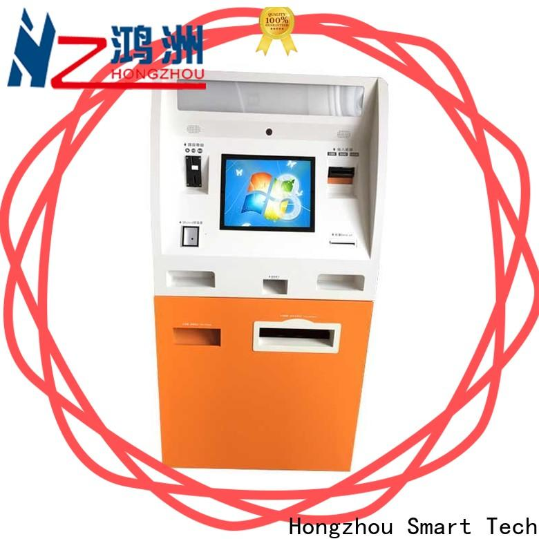 metal automated payment kiosk factory in bank