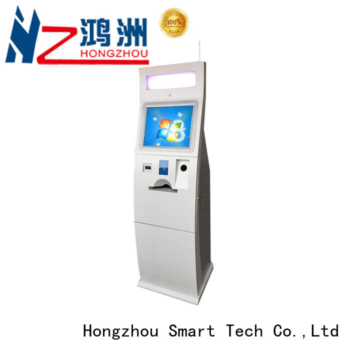Hongzhou self service payment kiosk for busniess in bank