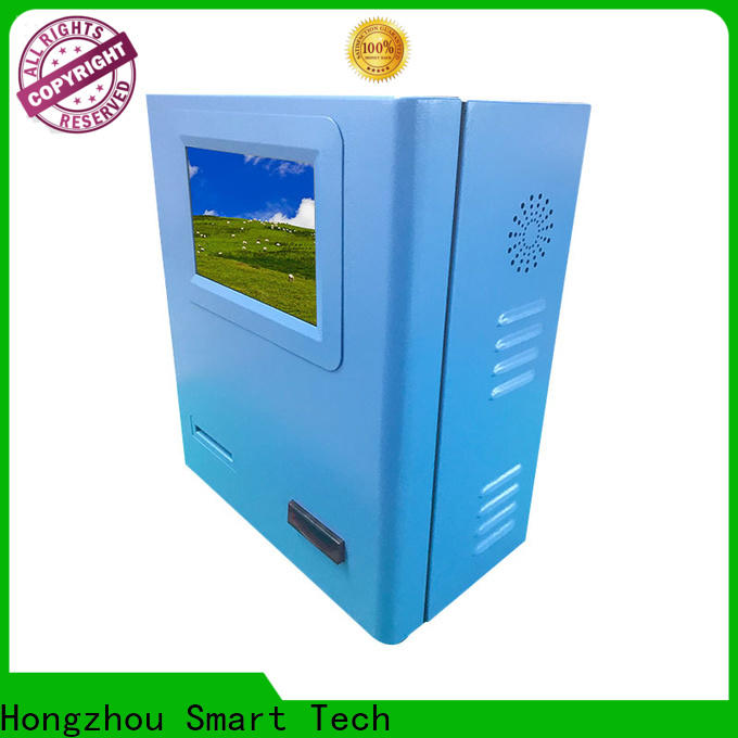 Hongzhou blue self payment kiosk machine in hotel
