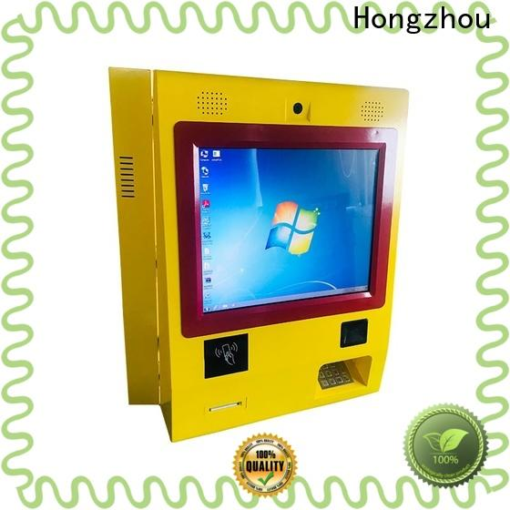 Hongzhou automated payment kiosk factory in hotel