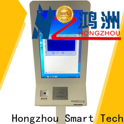 Hongzhou best hospital check in kiosk with coin for sale