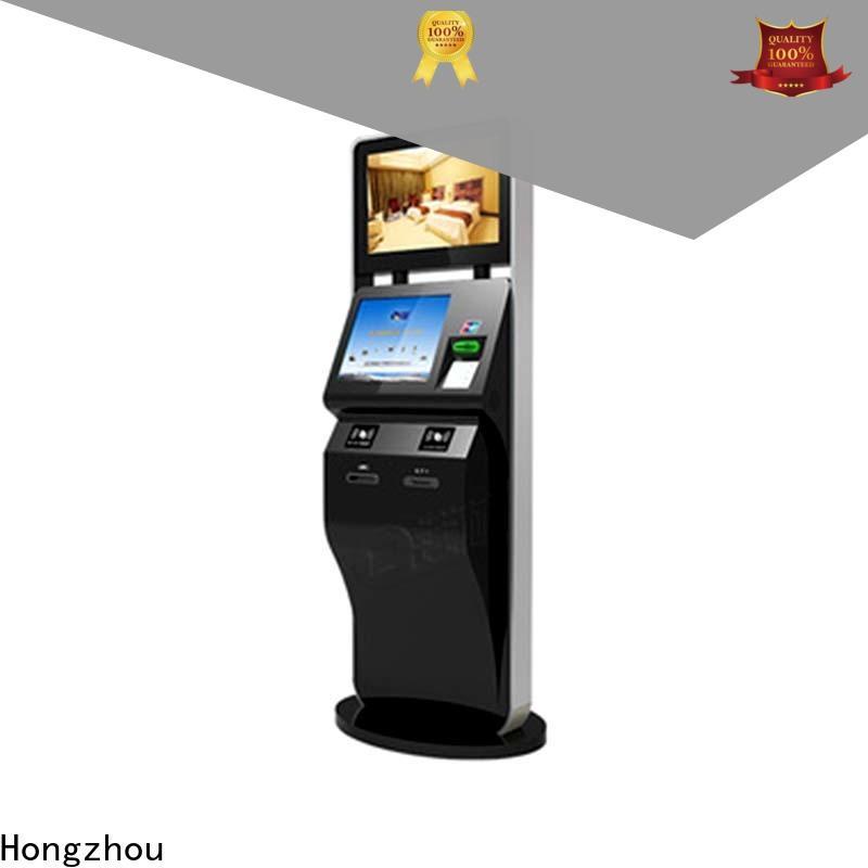 Hongzhou ticketing kiosk with printer for sale