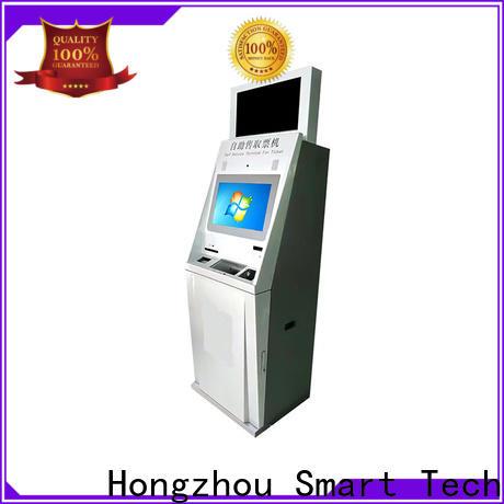 Hongzhou custom ticket kiosk machine with camera on bus station