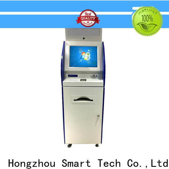 Hongzhou information kiosk machine receipt in airport