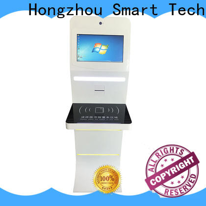 wholesale library self checkout kiosk manufacturer for sale