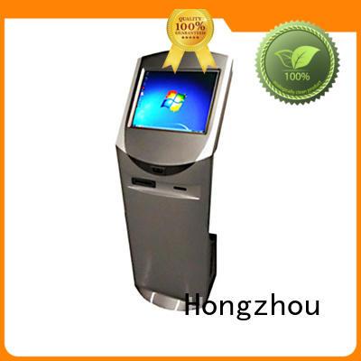 landing touch screen information kiosk led in bar Hongzhou
