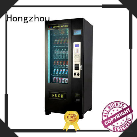 Hongzhou design beverage vending machine auto for shopping mall