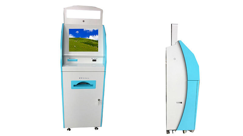 Hongzhou patient self check in kiosk key in hospital-1