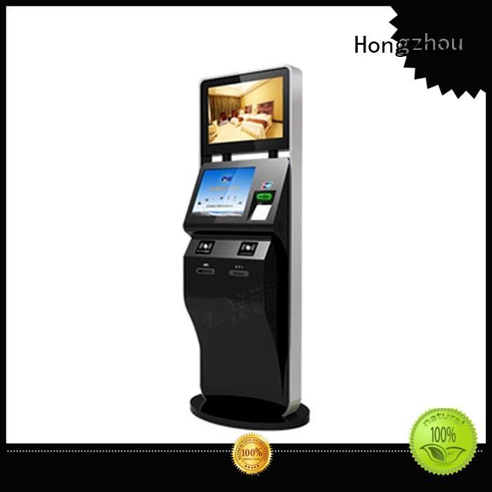 Hongzhou custom self service ticketing kiosk company for sale