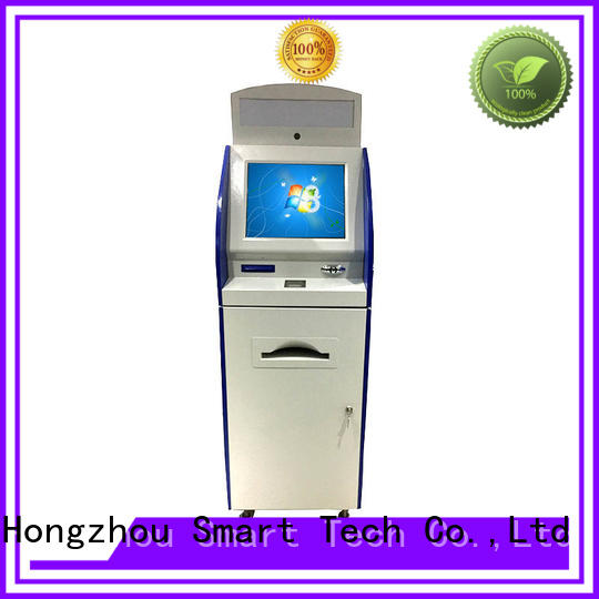 thermal information kiosk touch screen with printer in airport Hongzhou