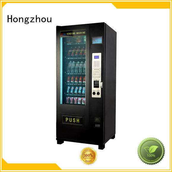 Hongzhou snack vending machine manufacturer for sale