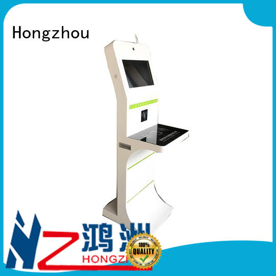 high quality library self service kiosk convenient for sale Hongzhou
