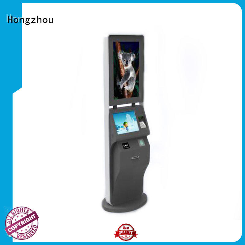 Hongzhou new ticketing kiosk with camera in cinema
