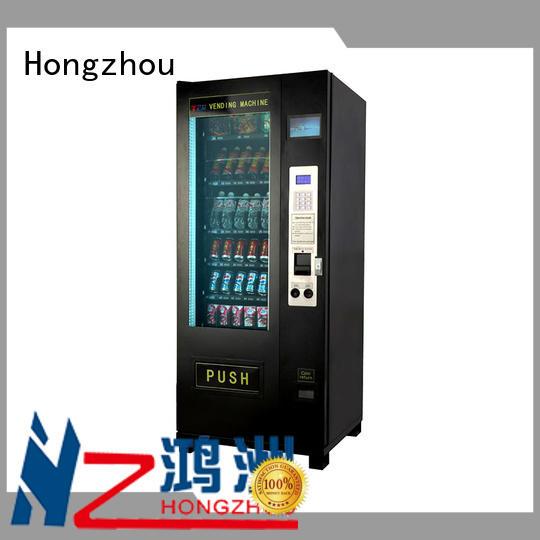 Hongzhou beverage vending machine manufacturer for airport
