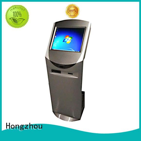 Hongzhou indoor interactive information kiosk supplier for sale
