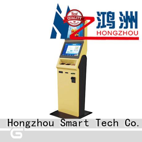 Hongzhou hotel self check in kiosk company in villa