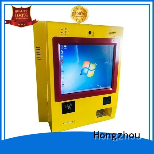 Hongzhou blue payment machine kiosk coated for sale