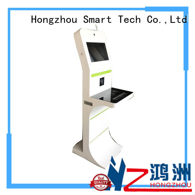 OEM RFID interactive library kiosk with customized logo for library
