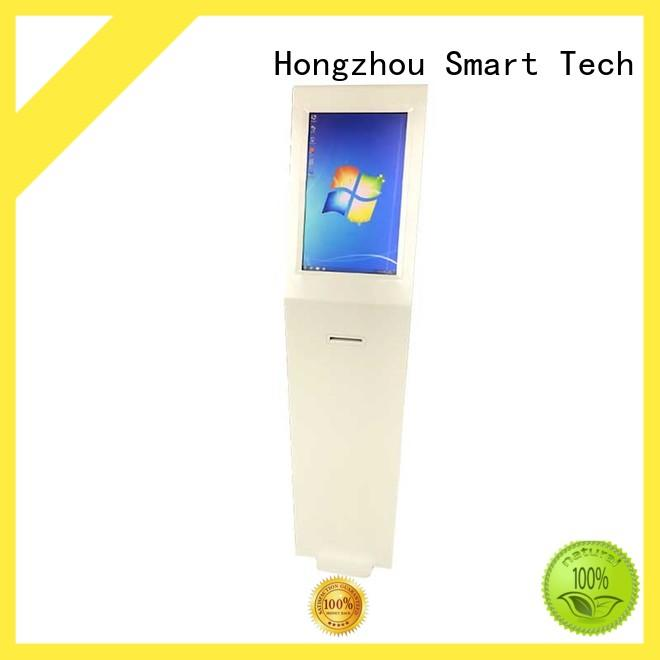 Hongzhou wireless information kiosk with camera in airport